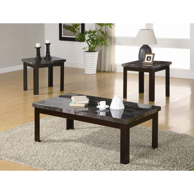 Best Milton Green Star Andro 3 Piece Coffee And End Table Set 640 x 480