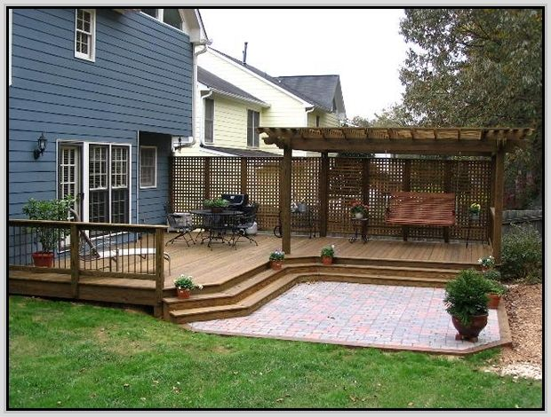 SIMPLE DECK IDEAS - Google Search | DECK IDEAS | Pinterest ...