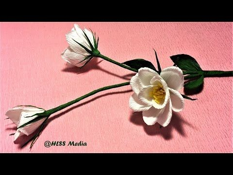 Easy diy origami lisianthus paper flowercrepe paper flower making easy diy origami lisianthus paper flowercrepe paper flower making step by stepcraft paper tutorial youtube mightylinksfo