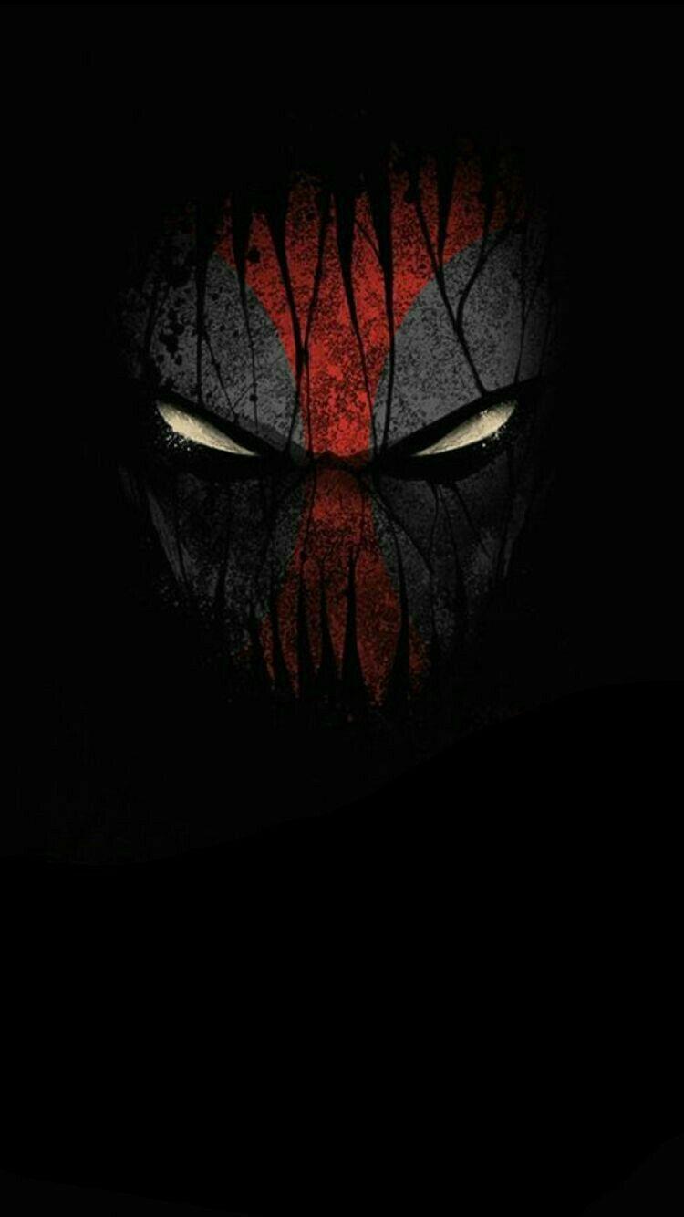 X Spiderman Looking Iphone Wallpaper