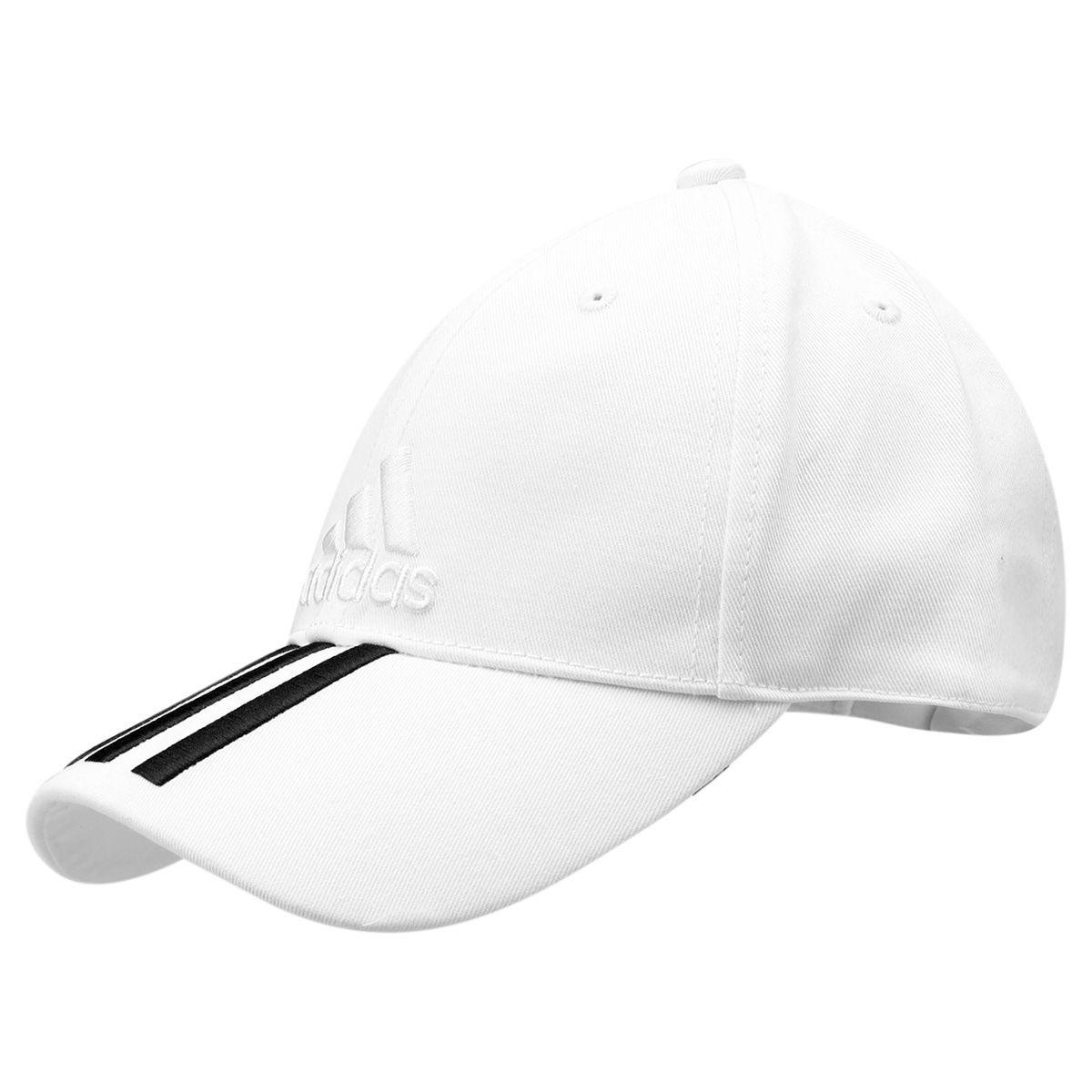 Boné Adidas Aba Curva Essential 3S Cotton - Compre Agora  d0e0874acbb