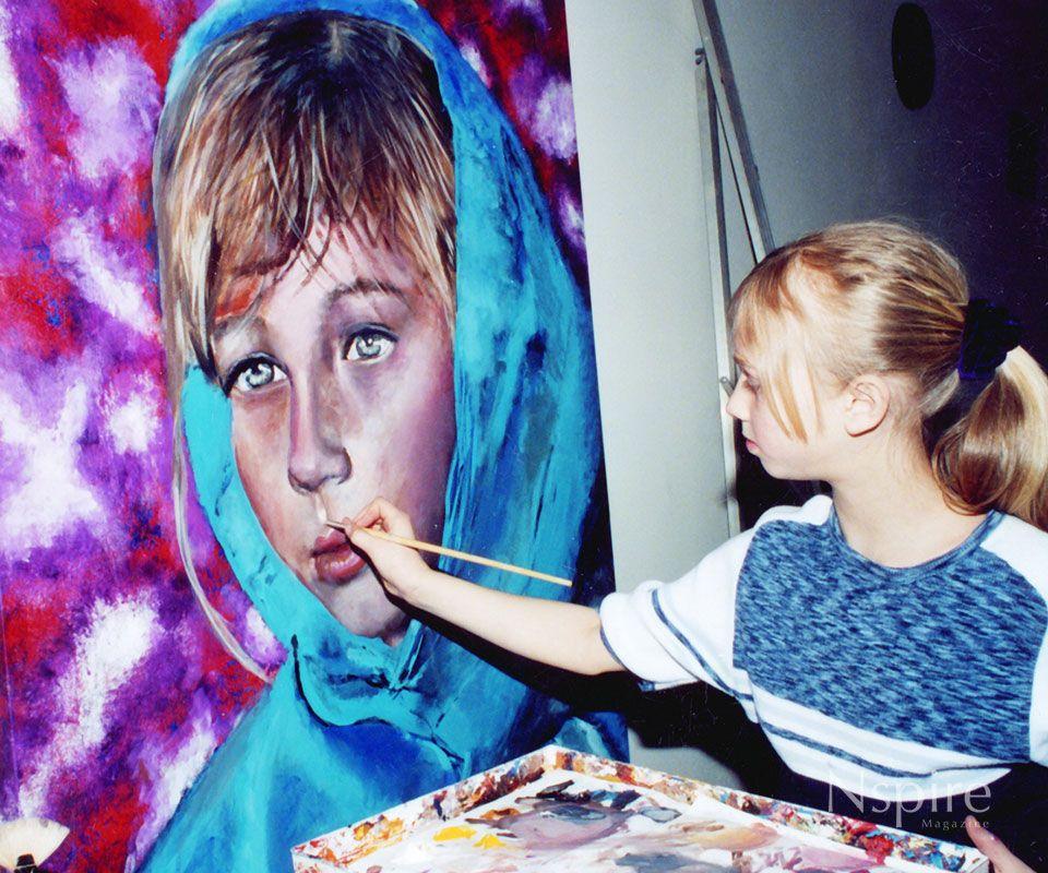Akiane kramarik prodigy at eight years old with images