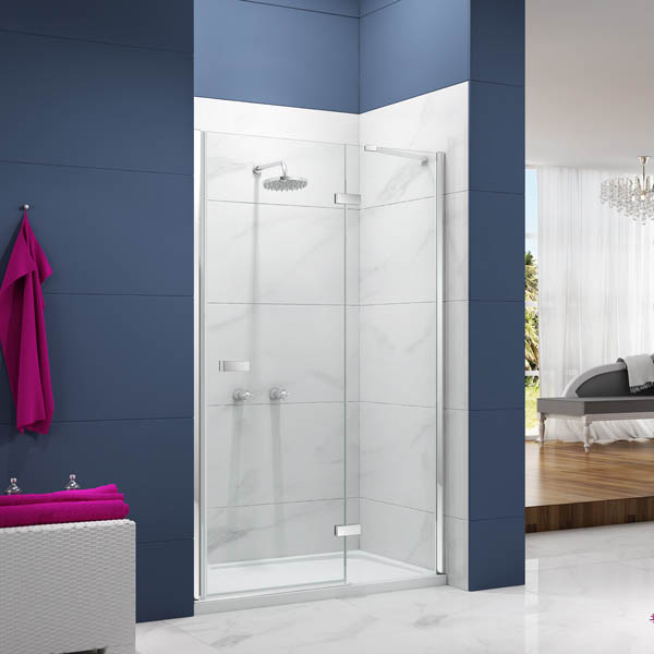Merlyn Ionic Essence Hinge Inline Shower Door Victorian Plumbing In 2020 Shower Doors House Styles Heating Plumbing