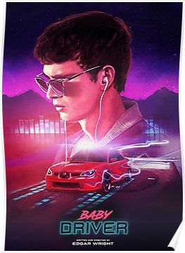 baby driver muse Poster