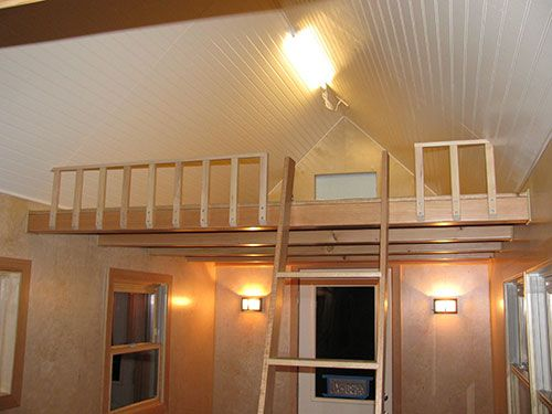 Best Safety Railing On The End Of This 8 Foot Loft Loft 400 x 300