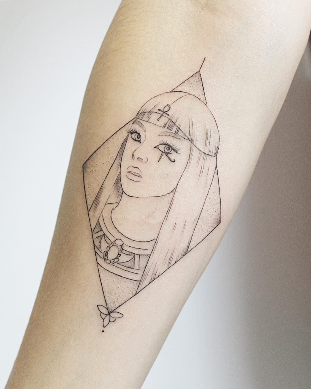 Cleopatra Animal Tattoos For Women Tattoos For Women Fine Line Tattoos