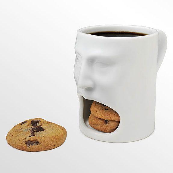 Top 10 Creative Coffee And Tea Mugs Coool Stuff Face Mug Cookie In A Mug Funny Coffee Cups