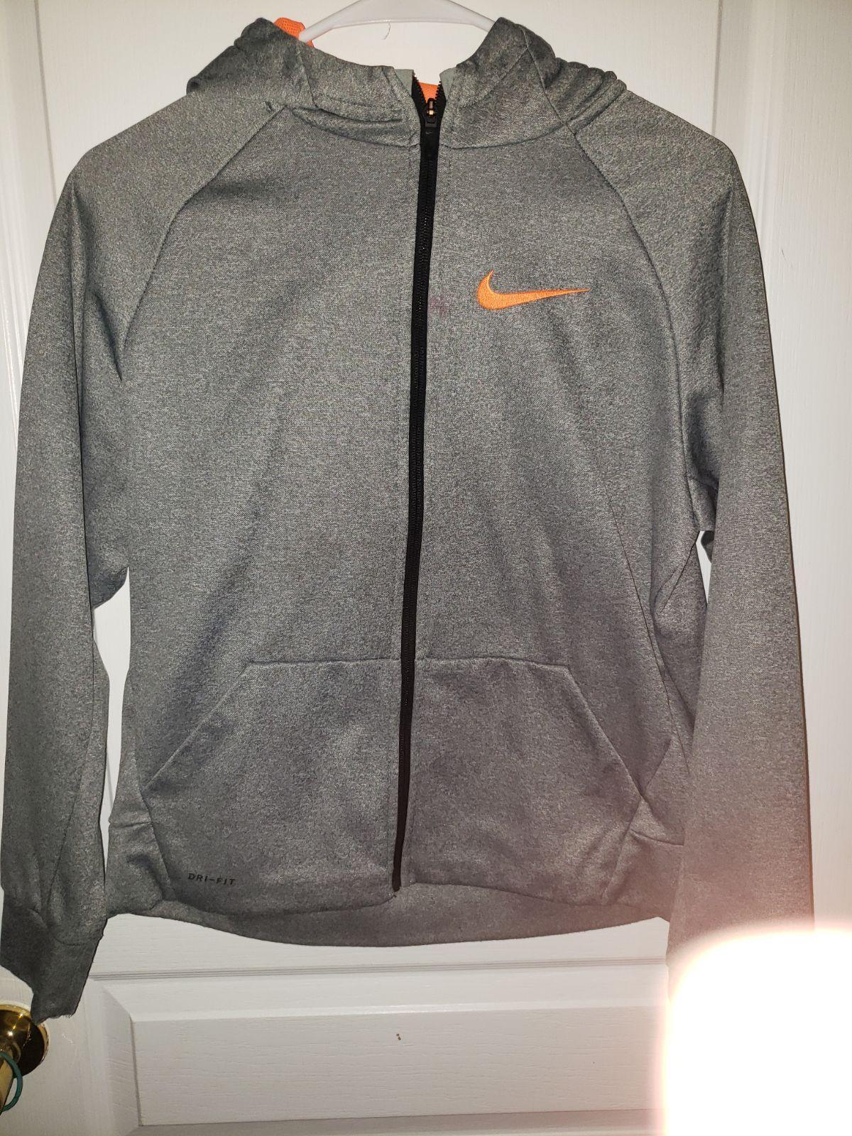 Nike Dri Fit Zip Hoodie Boys Xl Sweatshirt Boys Hoodies Zip Hoodie Nike Dri Fit [ 1600 x 1200 Pixel ]