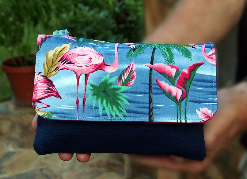 A personal favorite from my Etsy shop https://www.etsy.com/listing/453214214/twin-wallet-flamingo-everyday-smartphone