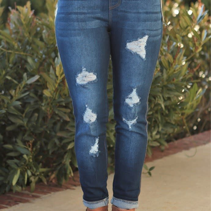 5569761112c1c Denim Jeggings | S-3X in 2019 | Style Ideas | Paper dolls clothing ...