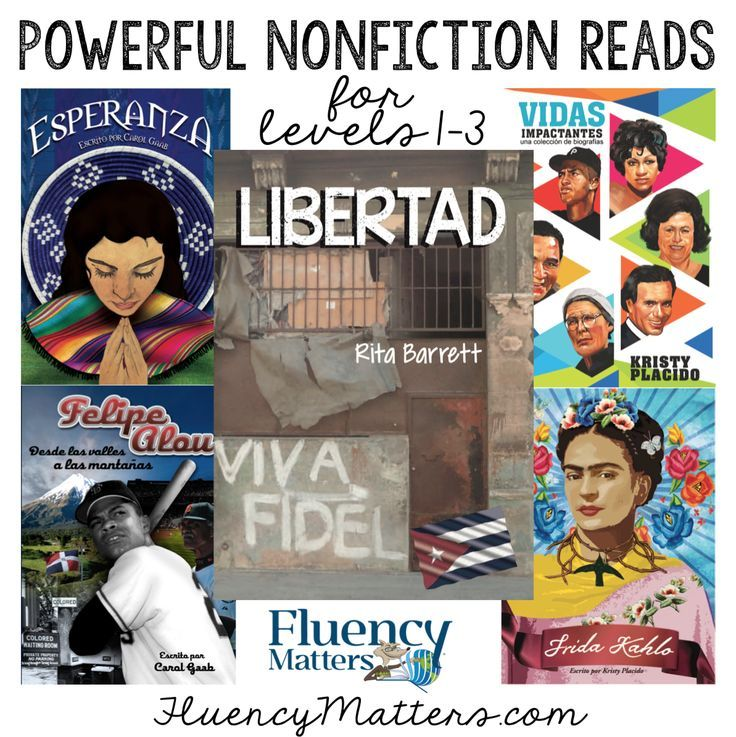 Non-fiction is so compelling! Students of all ages and levels love these readers from Fluency Matters!