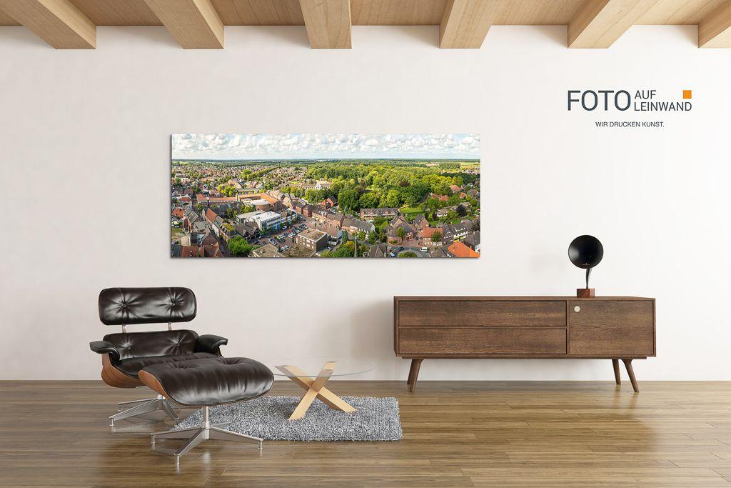 Panoramen und Motive von Rhede der Stadt im Westmünsterland #leinwand #leinwanddruck #wirdruckenkunst