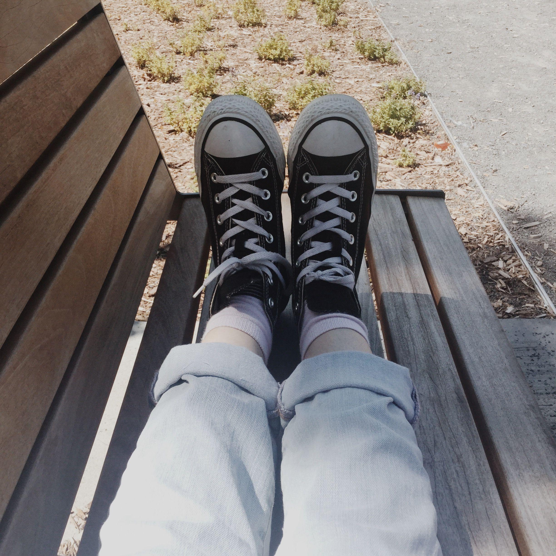 Ulzzang #얼짱 #Koreanfashion | Converse, Giày ủng và Ảnh tự chụp
