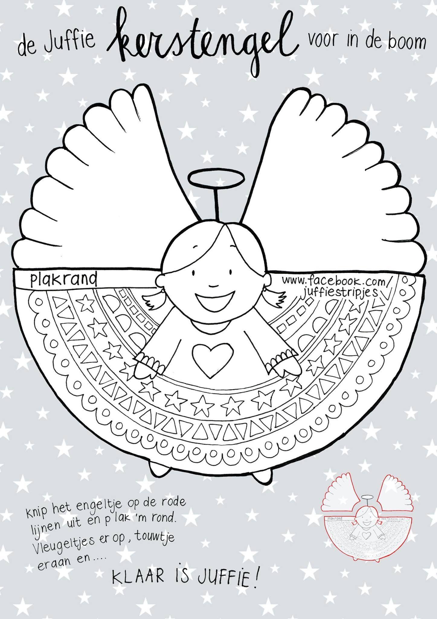 pin anja kunst op kerst engel knutselen