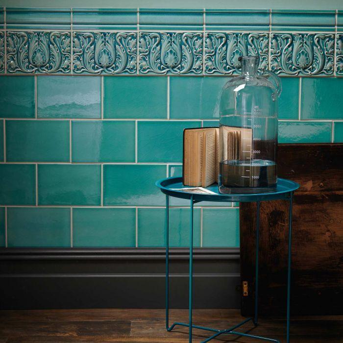 Edwardian Caledonian Base | Wall, floor tiles, Edwardian ...