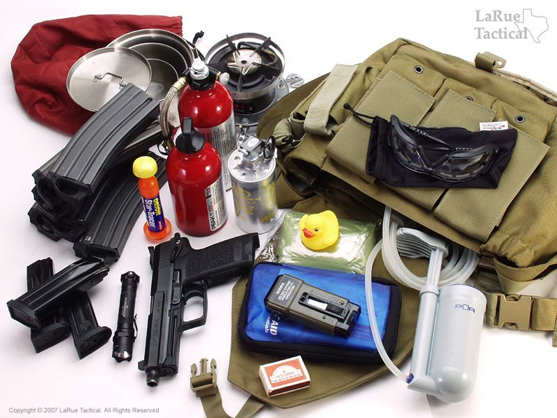 Bug Out Bag Checklist Essentials For