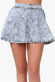 All Bottoms at Necessary Clothing Saved by the bell skirt:blue