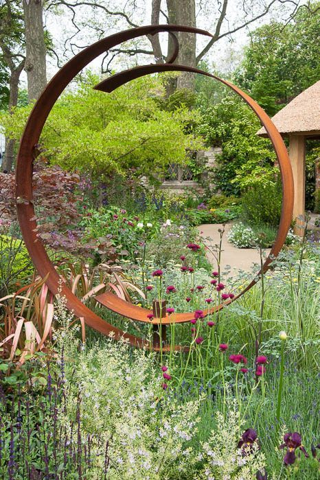 22 Best Garden Sculpture Ideas is part of Metal sculptures garden - Furniture Before looking for sunroom furniture, think about the means by which you'll use the space