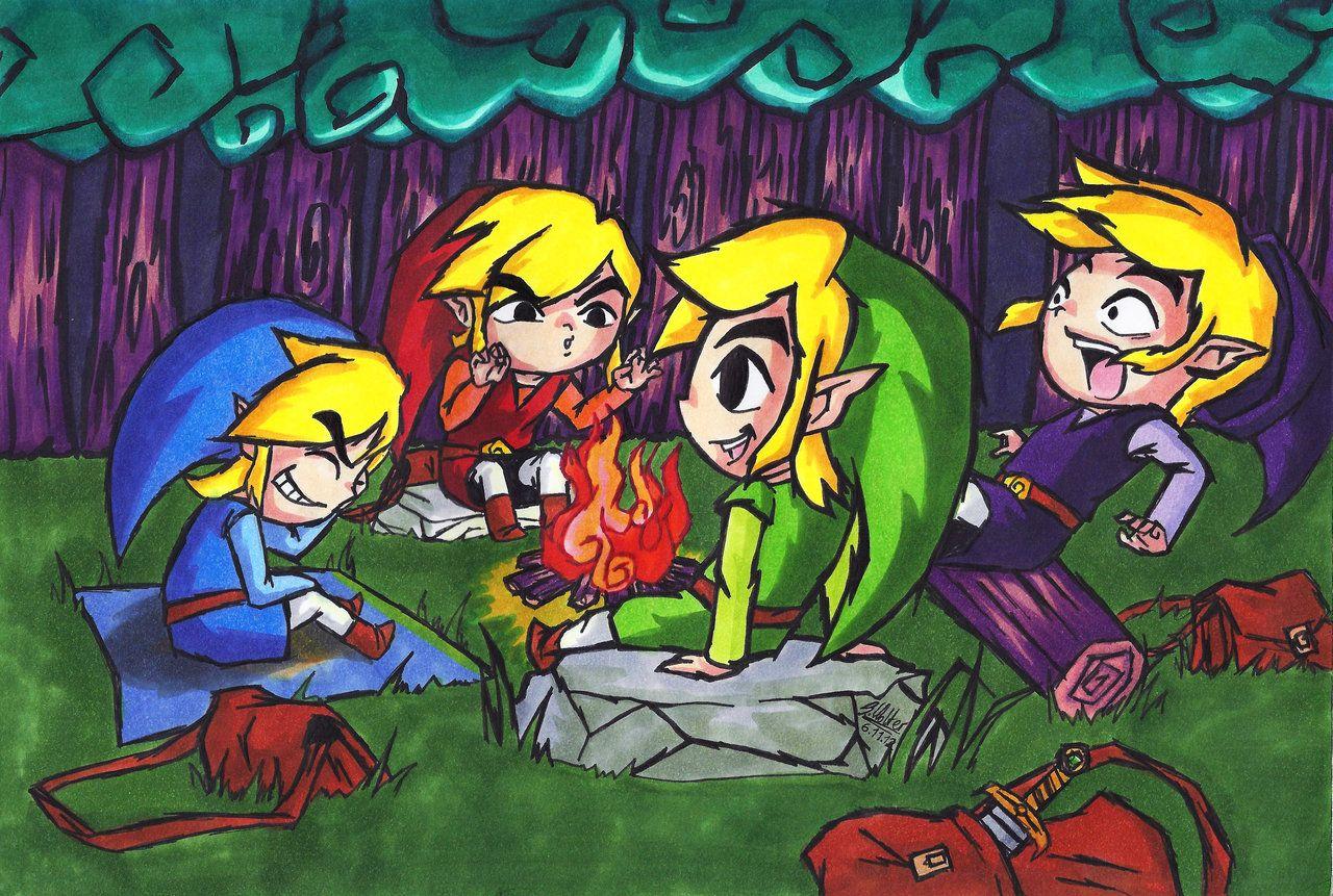 Four swords campfire stories