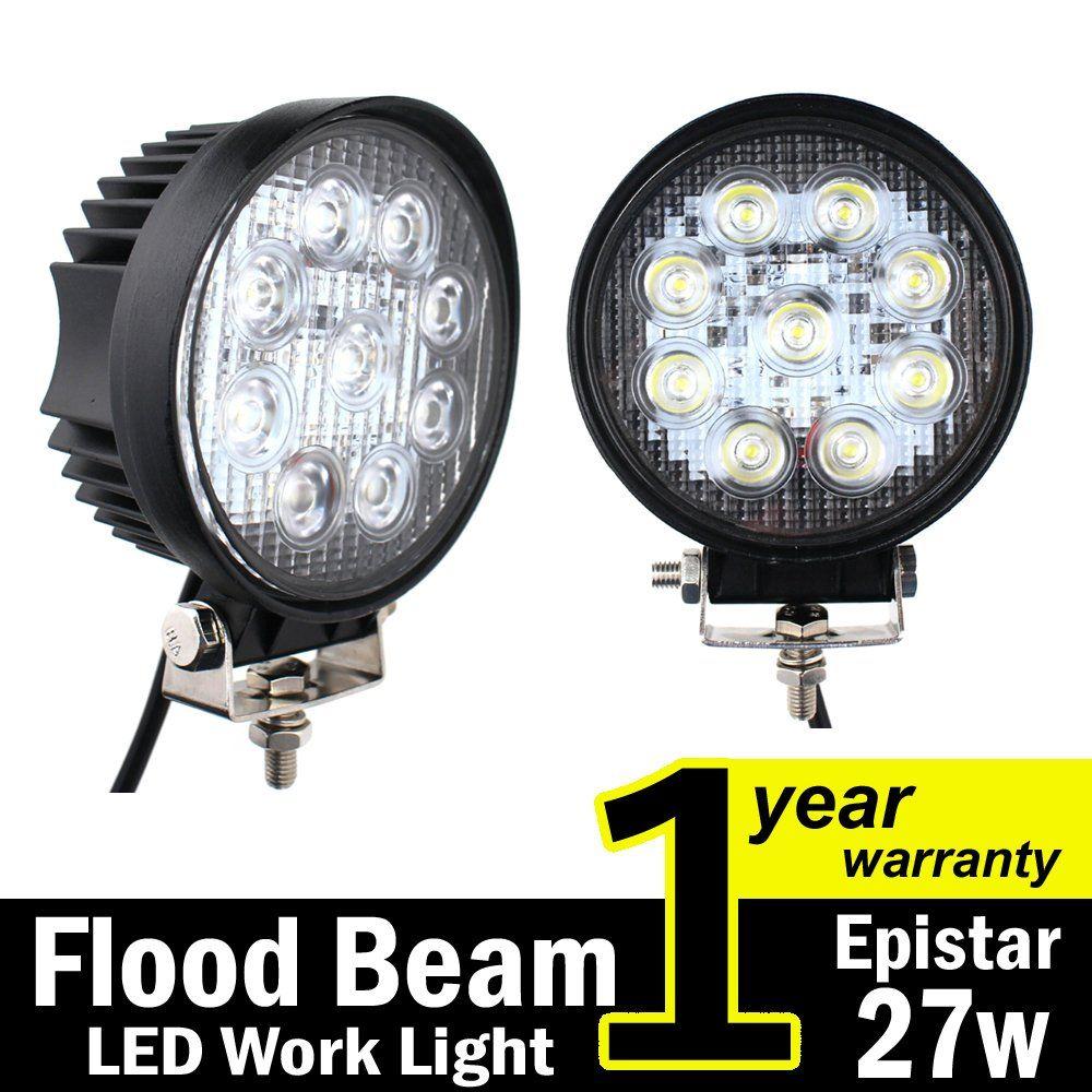 32inch 180W LED Epistat Light Bar Flood Spot Combo For Dodge Driving Truck Jeep