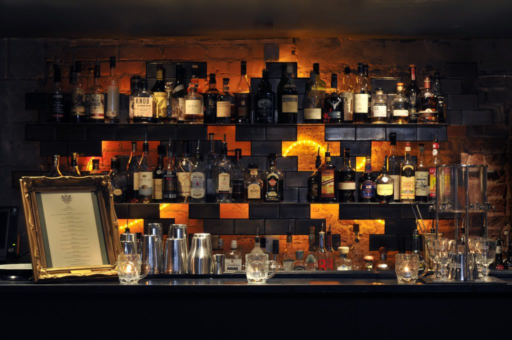 The bar at Callooh Callay, Shoreditch, London. Read our review: http://www.timeout.com/london/bars/venue/2%3A22377/callooh-callay