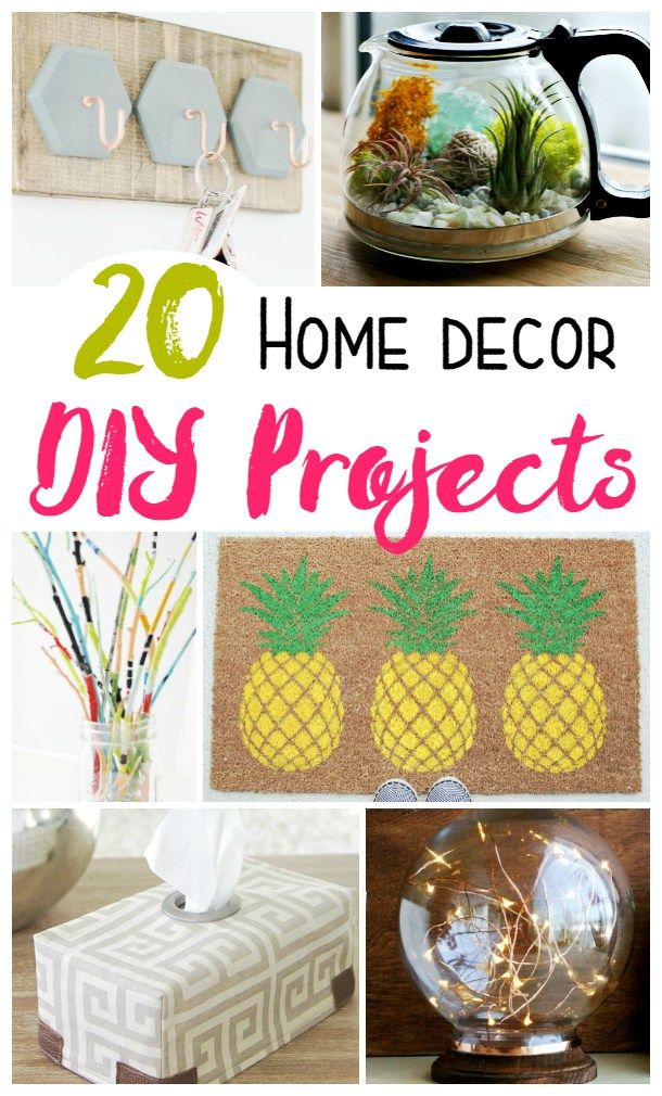 20 Awesome Diy Home Decor Projects And Ideas To Spruce Up Your House And Living Space Check Out These Great De Diy Home Decor Projects Decor Project Home Diy