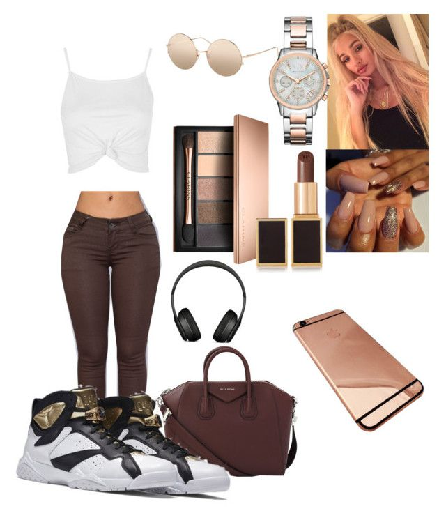 """""""💰💰💰"""" by zoeyybabyxo ❤ liked on Polyvore featuring Topshop, Givenchy, Linda Farrow, Armani Exchange, Tom Ford and Beats by Dr. Dre"""