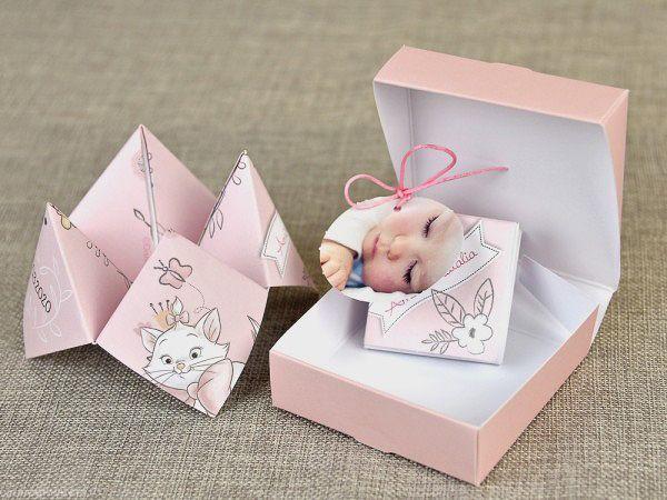 Invitatie Botez Solnita Origami 15726 Invitatii Botez Origami și