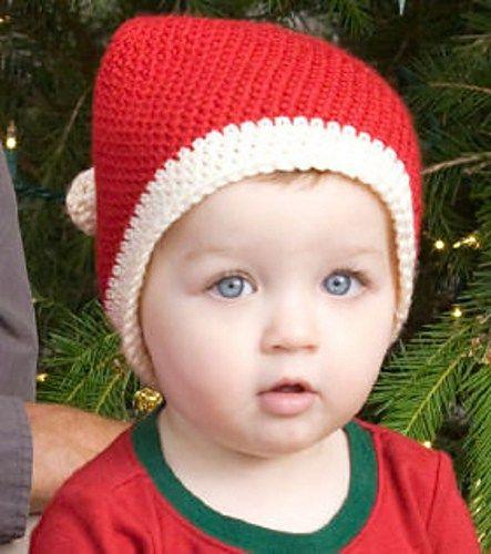 Toddler Santa Hat Knitting Pattern