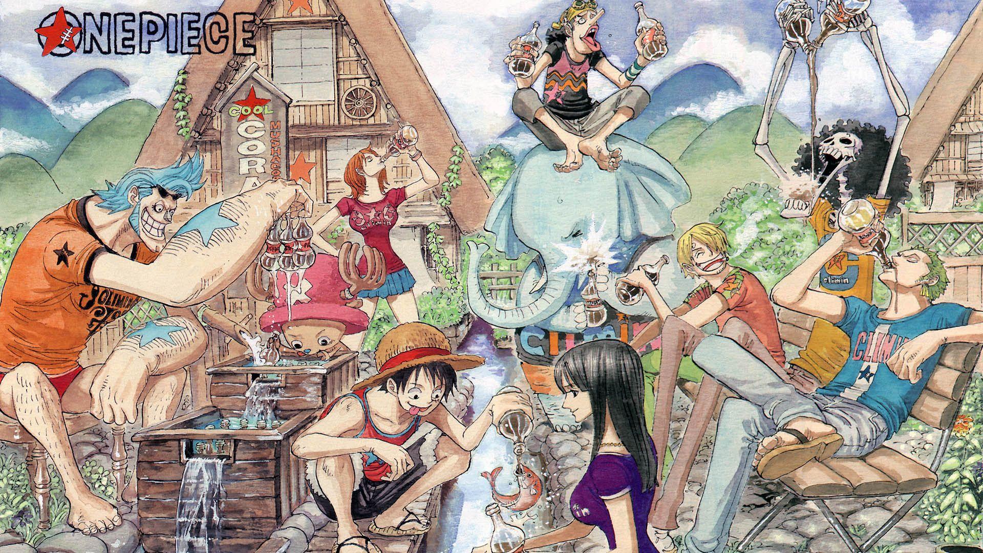 One Piece ワンピース 扉絵 漫画 ワンピース フランキー