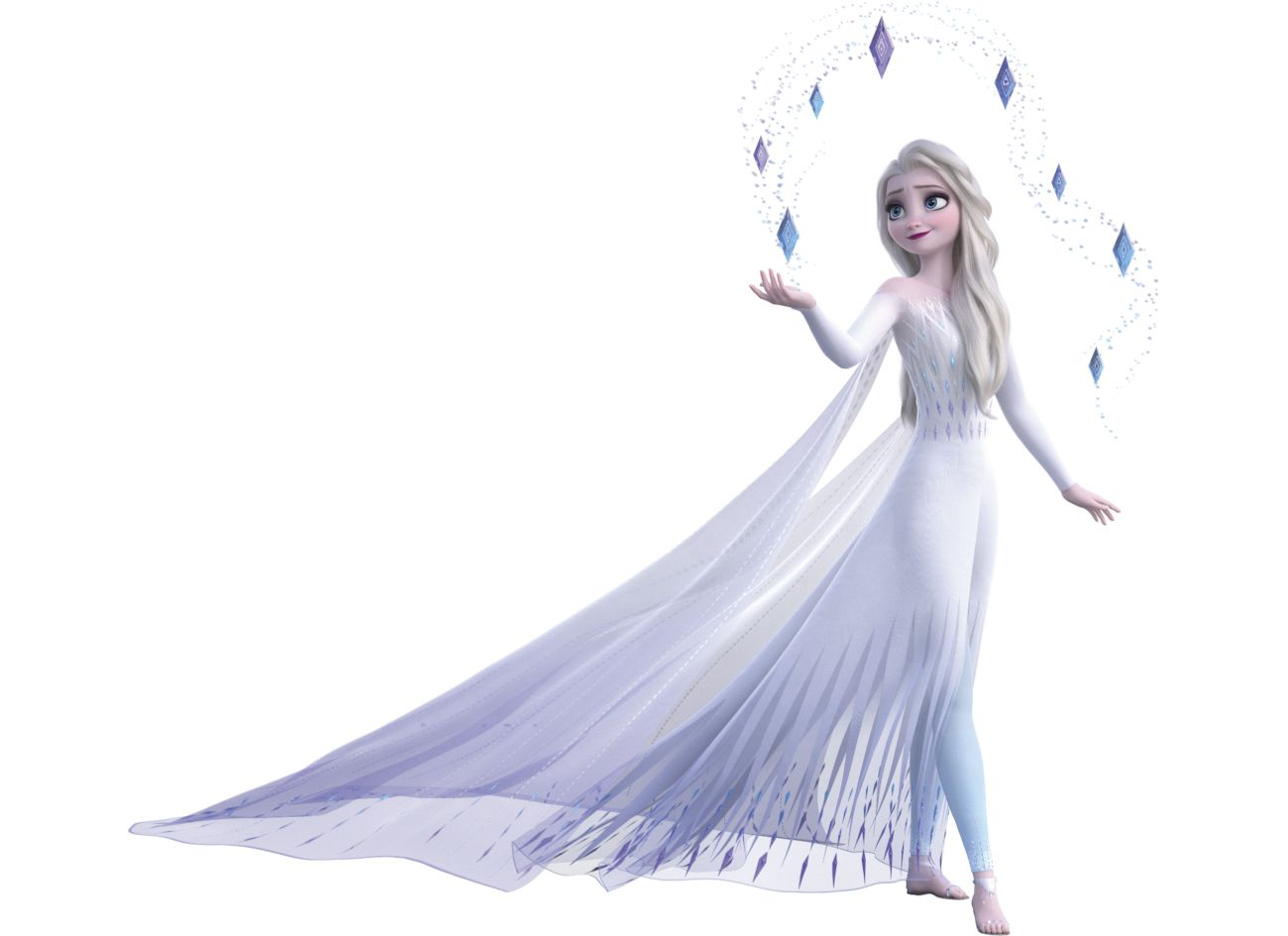 Elsa Frozen 2 White Dress Hair Down Imagesthe New Elsa S Fifth Spirit Look In Frozen 2 Has Won Over Millions Of Hearts In 2020 Frozen Elsa Dress Queen Elsa Disney Elsa