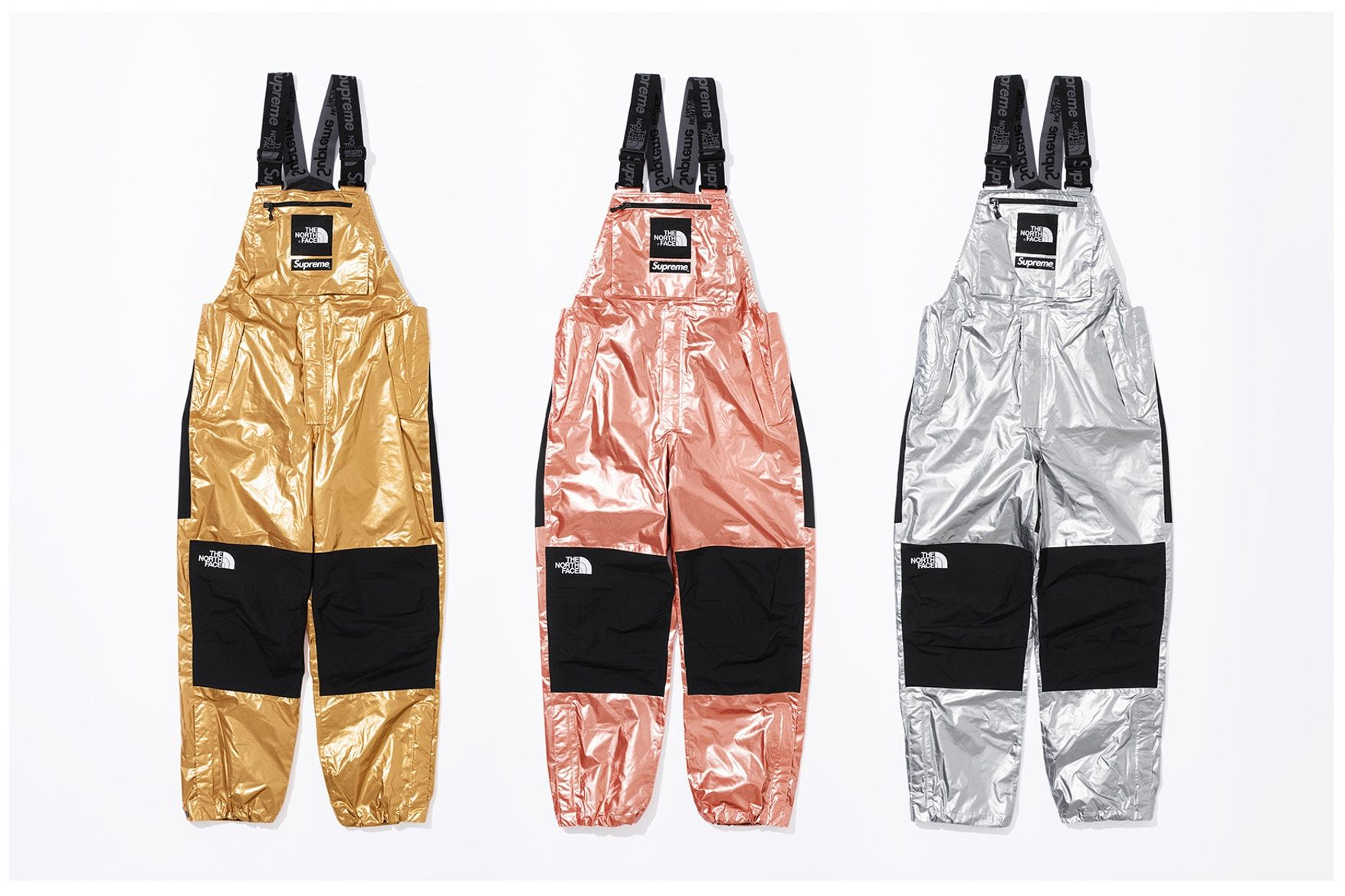 Supreme X The North Face Spring 2018 Metallic Collection