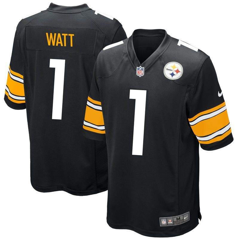 ... nike 2017 draft pick game jersey black 6c5be 1ee89 coupon for elite  pittsburgh steelers no.2 will monday nike jersey white goldblack michael  vick ... 430a817e5