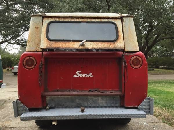 1963 International Scout 80 4x4 Ih Scout 4x4 For Sale In Baton