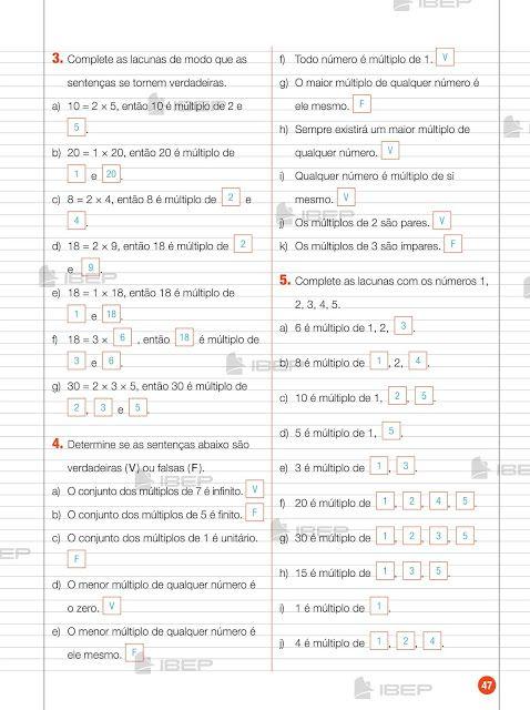 Caderno Do Futuro 6 Ano Matematica Professor Cadernos De Matematica