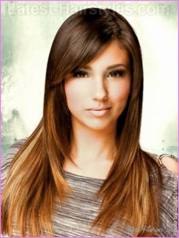 Nice Long Hair Layered Haircuts For Round Faces Haircuts For Long Hair Long Sleek Hair Long Hair With Bangs