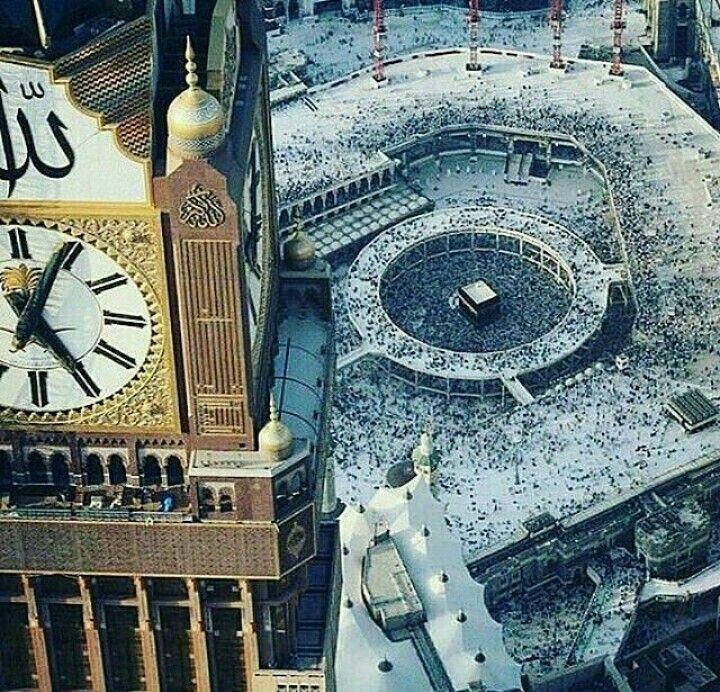 R.aaysha Mekah, Mesjid, Gambar menakjubkan