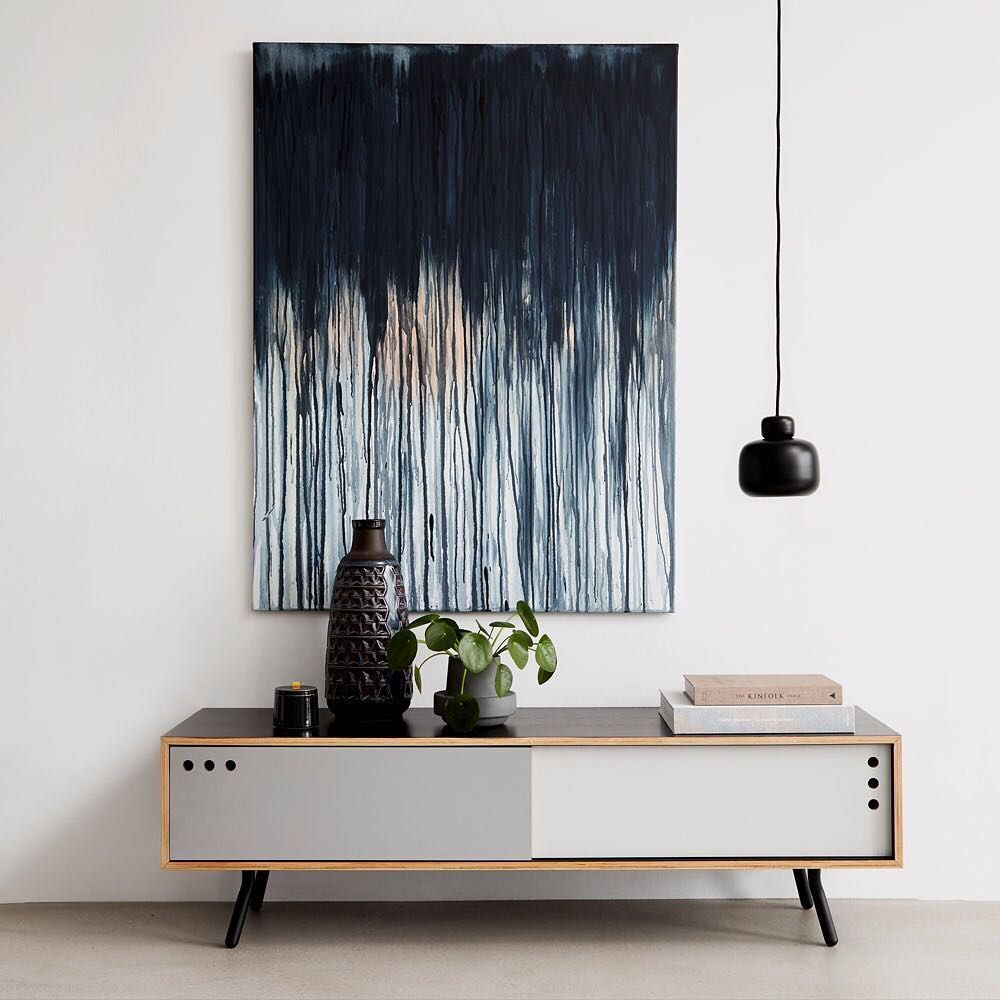 Channel sophisticated Scandic style into your interior design scheme with the @wouddesign Geyma Low Sideboard!