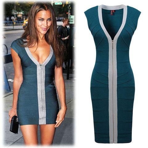 457cee8a6d3 Irina Shayk Exclusive Bandage Mini Dress