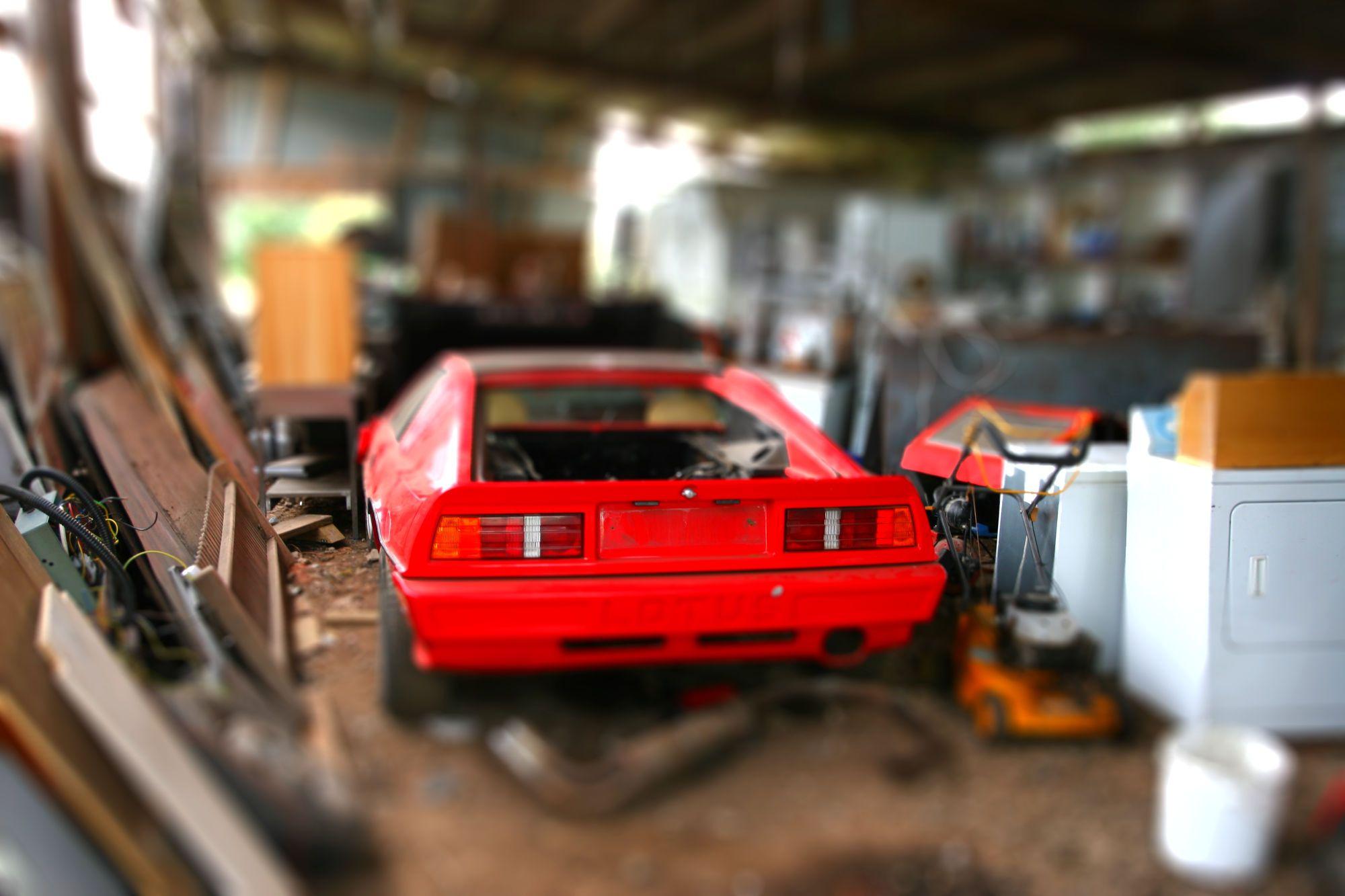 Lotus Turbo Esprit Barn Find