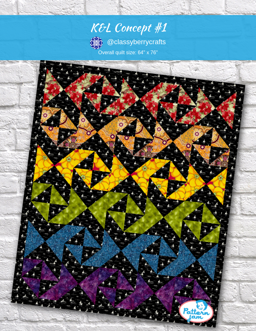 K L Concept 1 Quilt Patterns Madewithpatternjam Quilt Patterns