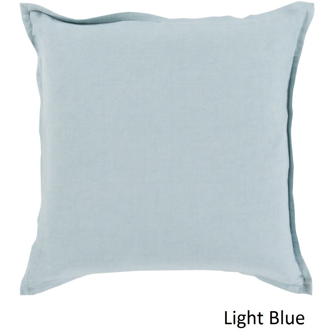 Decorative 20inch poly or feather down filled pillow