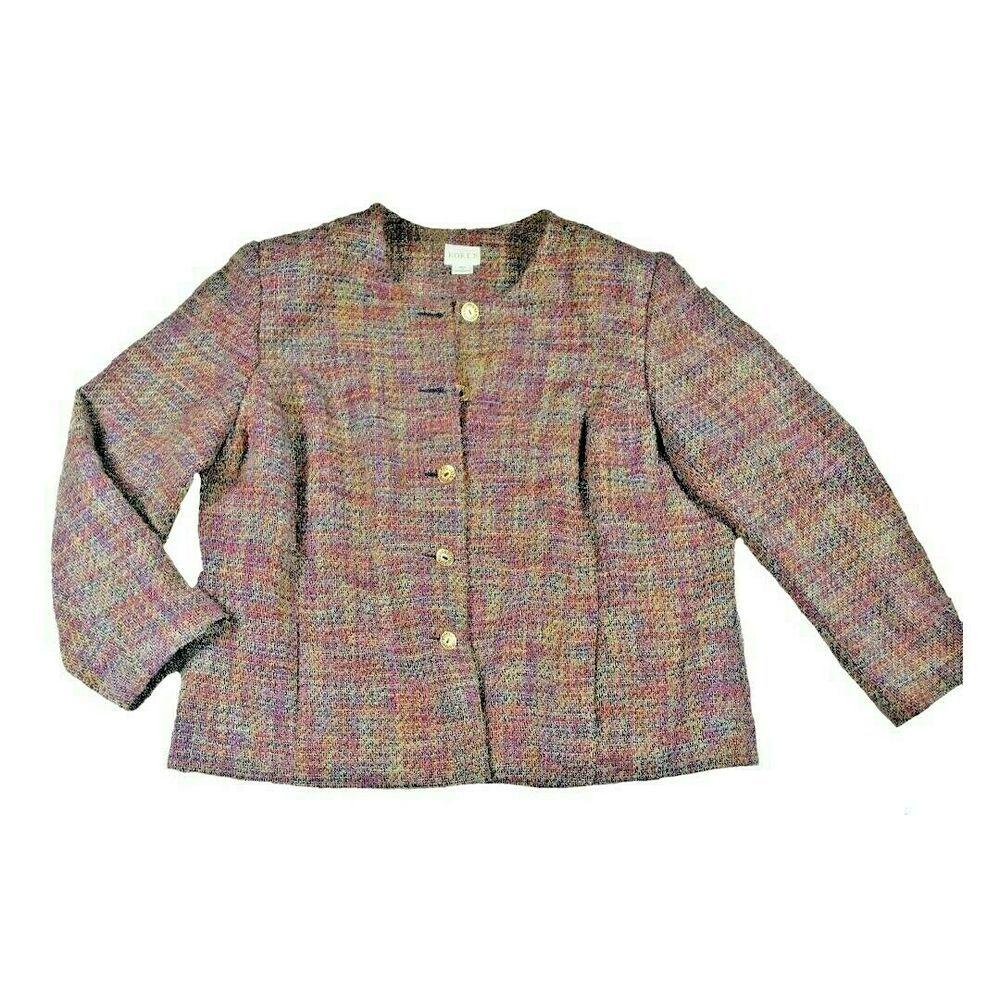 f3c95c645 Vintage Koret Blazer Womens Size 20W Wool  Koret  SuitJacketBlazer ...