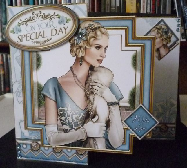 Pin By Debbie Evans On Deco Ideas In 2019: Card Made Using The New Art Deco Decadence CD-Rom