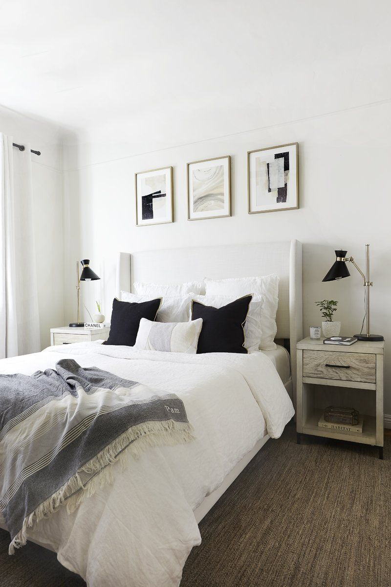 Alrai Upholstered Standard Bed Modern bedroom design