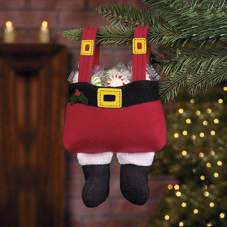santa pants gift bags orientaltradingcom christmaswishlist