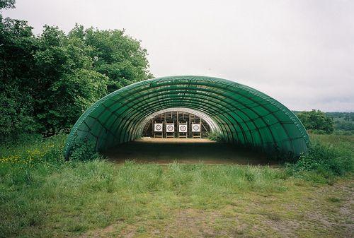 high tunnel, shadecloth, wind break, target practice?