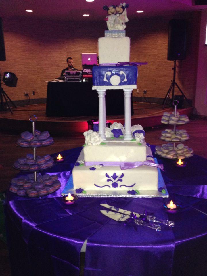 Gâteau de noce Alexandre et Émilie.