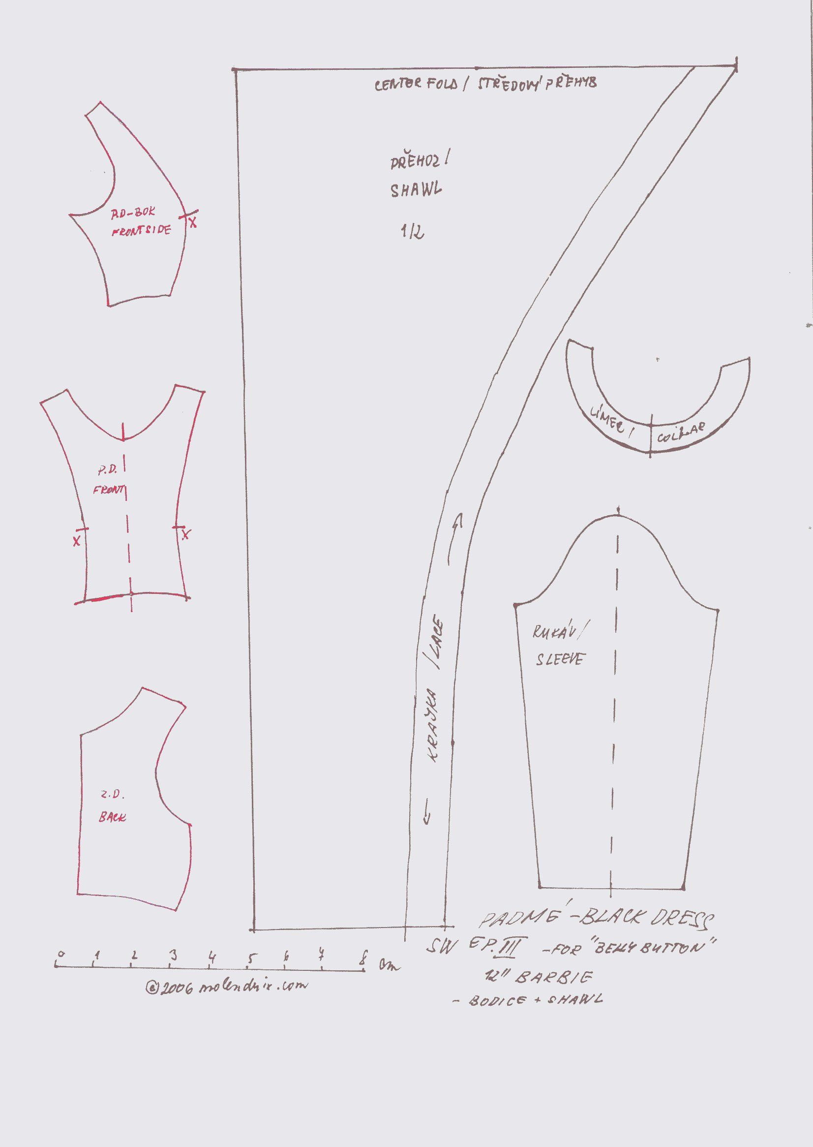 barbie doll clothes patterns - photo #31