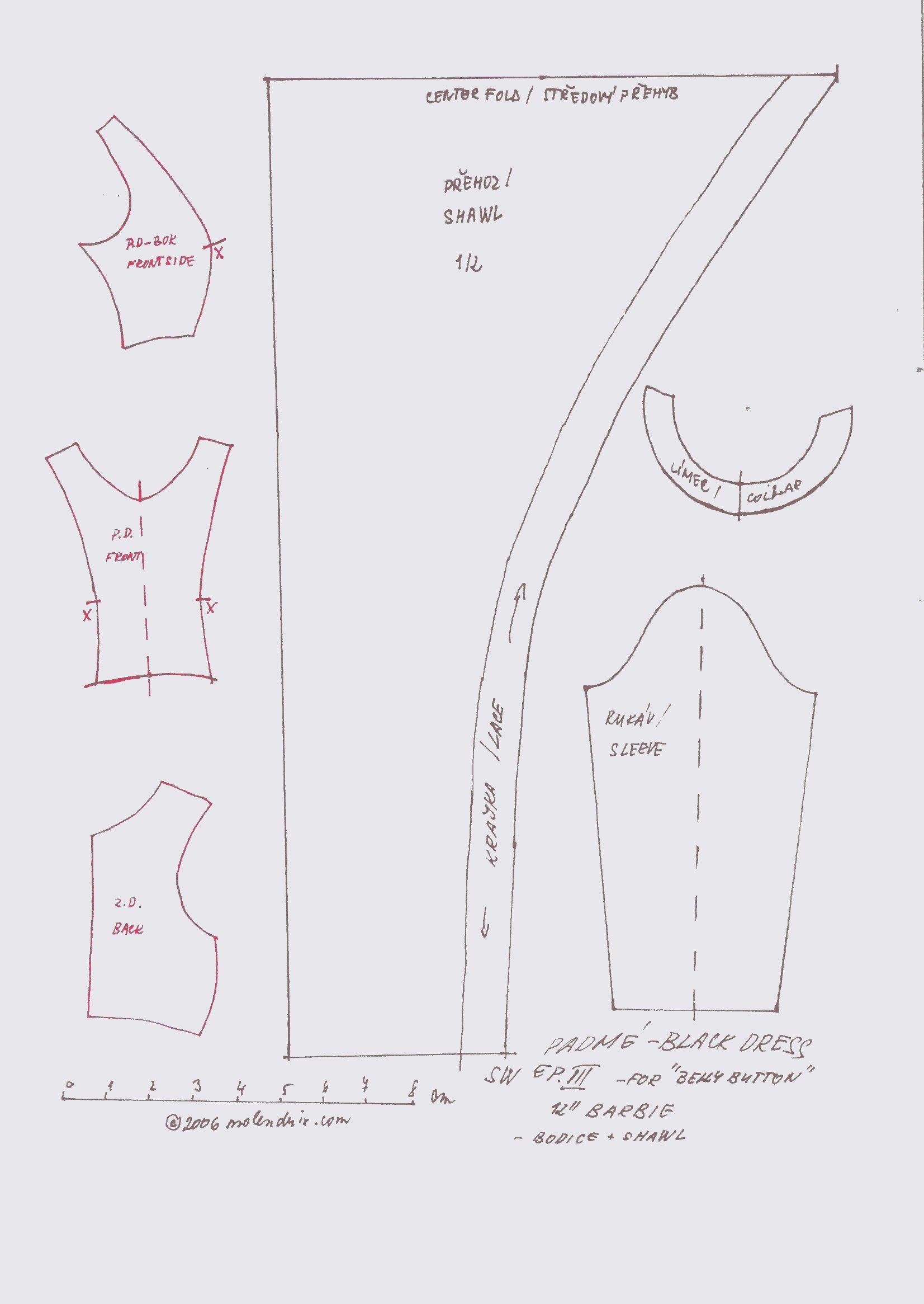 Free Printable Doll Clothes Patterns Unique Design Inspiration